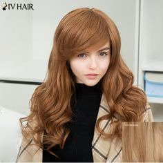 GET $50 NOW | Join RoseGal: Get YOUR $50 NOW!http://www.rosegal.com/human-hair-wigs/siv-long-inclined-bang-fluffy-971493.html?seid=2275071rg971493
