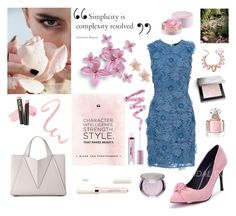 """""""Unbenannt #209"""" by majalina123 on Polyvore featuring Mode, French Connection, Lancôme, Burberry, Guerlain, Cynthia Rowley, L.A. Girl, Thalia Sodi und NAKAMOL"""
