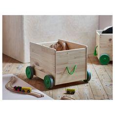 FLISAT tekerlekli oyuncak kutusu 44x39x31 cm | IKEA IKEA Çocuk