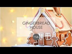 The Things She Makes: DIY Christmas // Gingerbread House // Giveaway