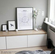 Album – 11 – Besta Area (Ikea) Offices, Libraries, Customer Realizations, … - New Deko Sites Living Room Interior, Home Living Room, Living Room Designs, Living Room Decor, Ikea Eket, Ikea Hack, Ikea Office, Muebles Living, Best Ikea