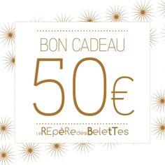 Bon cadeau 50€ - Le Repère des Belettes