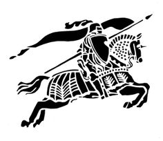 Medieval Jousting KNIGHT - Original Paper Cutting by Sherry Scott on Etsy Knight On Horse, Knight Logo, Bleach Art, Knight In Shining Armor, Celtic Art, Kirigami, Runes, Wood Carving, Tattos