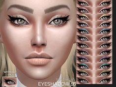 The Sims Resource: Sintiklia - Eyeshadow 16 • Sims 4 Downloads