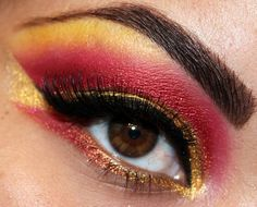 Sailor Galaxia Inspired EOTD! https://www.makeupbee.com/look_Sailor-Galaxia-Inspired-EOTD_33314