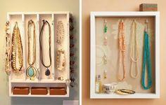 Organize your jewelry - Ideias para organizar os colares de forma bonita