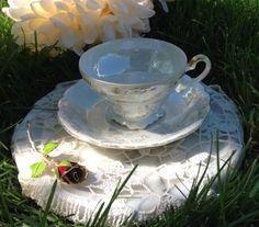 Vintage Saji Fancy China Made in Japan Teacup & by BellesTeaShop, $24.95