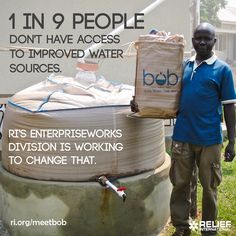 Meet bob®. See how bob® brings safe and clean water to Ugandan doorsteps: ri.org/meetbob