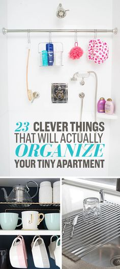 23 Clever Ways To Actually Organize Your Tiny Apartment