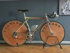 Rare COLNAGO MASTER TT Equilateral, 30th anniversary, Campagnolo C rec.