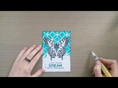 MbS Butterfly Beauty card - YouTube