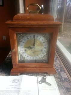 Excited to share the latest addition to my #etsy shop: Vintage Franz Hermle Ridgeway Triple Chime 2 Jewel Oak Mantel Clock West Germany Working http://etsy.me/2nT8pXY #housewares #clock #solidoak #clocks #chimes #westminster #franzhermle #westgermany #mantle
