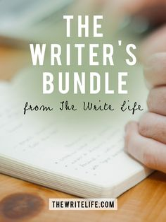 Have you seen our awesome offer for writers? The Writer's Bundle includes 9 ebooks and courses, and is only available for 3 days! http://thewritelife.com/thewritersbundle #writers