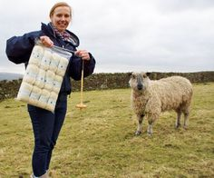 Staff at a North Yorkshire castle are weaving wonders with rare breed sheep being kept on the grounds as part of on-going re-introduction programme.