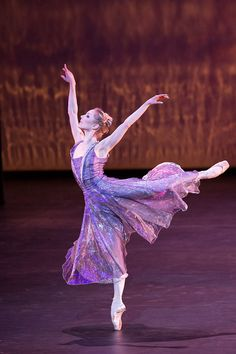 Sarah Lamb in Alexei Ratmansky's Royal Ballet production of 24 Preludes, 2013. Photo by Johan Persson