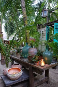 Posada Margherita, Tulum, Mexico. Via Rosy Cheeks