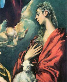 el greco madonna and child - Google Search