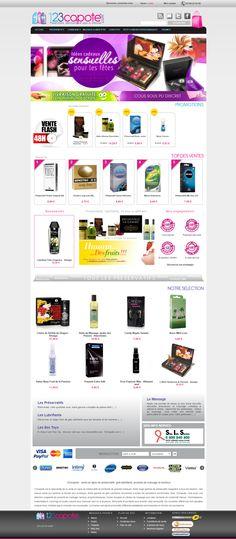 Boutique PrestaShop Préservatif
