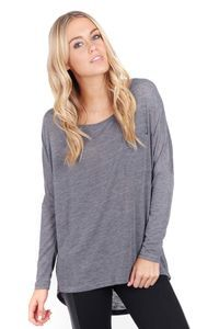 divided long sleeve top
