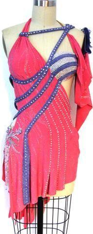 latin dresses for competitions - http://www.zhannakens.com/dress-styles/latin-dance-dresses.html