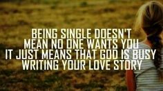 God loves you so much he wants the best for us