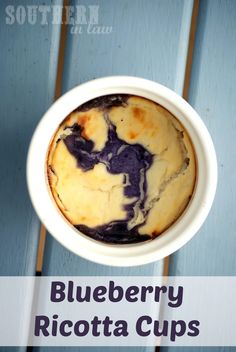 Healthy Blueberry Ricotta Cheesecake Cups Recipe