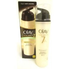 Olay Total Effects 7 in One Moisturiser (SPF Anti Ageing Moisturiser, Ageing, Olay, My Beauty, Anti Aging, Shampoo, Personal Care, Bottle, Coming Of Age