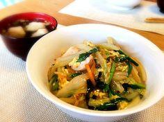 冷蔵庫の残り物の野菜で作りました - 17件のもぐもぐ - 中華丼 by reo4911