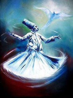 Sufi Whirling Dervish, Osho, Hafiz, Arabic Art, Islamic Art Calligraphy, 12th Century, Colouring Pages, Mystic, Religion
