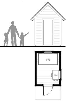 Image Result For Playhouse With Loft Plans