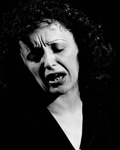 """""""If I weren't burning myself out, do you think I'd be able to sing?…That's the way I've always lived. I'm only interested in going all the way."""" - Edith Piaf - (Photo by Gjon Mili for LIFE Magazine, Her Music, Music Love, Kinds Of Music, Stoner Rock, Hard Rock, Rockabilly, Gjon Mili, New Wave, She Song"""