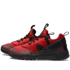 Nike Air Huarache Utility (Gym Red & Black)