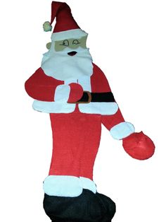 Père Noël articulé #faitmain,#diy, #fait maison by Julia DIY http://juliadiy.strikingly.com/