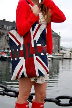 Wills union jack bag British American, British Style, Union Flags, British Things, Union Jack, British Invasion, Save The Queen, London Calling, Plus Size Women