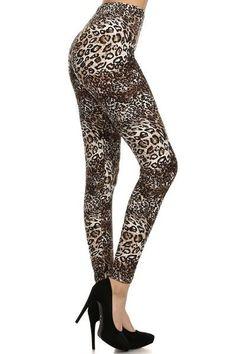 Regular Leggings~ Leopard Print