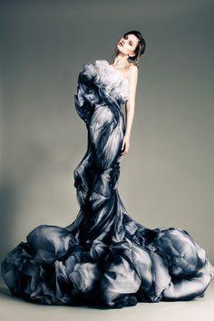 Блеск высокой моды и женщины-цветы Jean Louis Sabaji - Ярмарка Мастеров - ручная работа, handmade