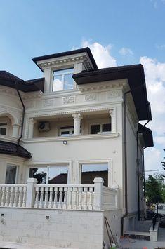 Proiect Casa Rezidentiala zona Podul Grant, Bucuresti – Profile Decorative Design Case, Profile, Exterior, House Design, Windows, Mansions, Architecture, House Styles, Crib