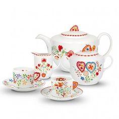 Lencos de Namorados - Portuguese Sweetheart Tea set