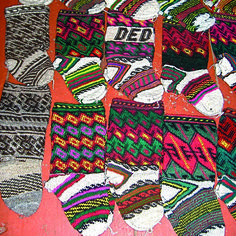 The pattern for the jurab socks mentioned here is available in Interweave Crochet Winter 2011 along with other projects for your handmade holiday!