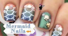 Multichrome Mermaid Nail Art