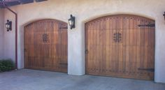 Pella Wood Carriage House Garage Doors