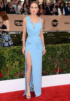 Brie Larson en Atelier Versace aux SAG Awards 2016