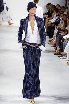 Ralph Lauren Spring 2006 Ready-to-Wear Fashion Show - Caroline Winberg