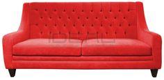 Przepiękna czerwona sofa Chesterfield z głębokimi pikowaniami i wysokimi plecami. Intensywny kolor pozwala tą stylową sofę odkryć na nowo. Idealna do salonu, perfekcyjna do gabinetu. Wygodna wysuwana funkcja spania pozwoli komfortowo z rodziną zasiąść przed tv lub przenocować gości.   sofa_chesterfield_mild_IMG_1372a.jpg (1200×593)