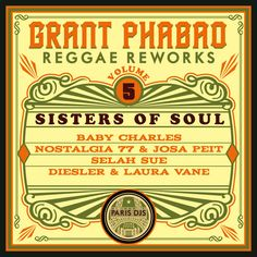 Grant Phabao / Reggae Reworks Vol.5 - Sisters Of Soul / Paris DJs