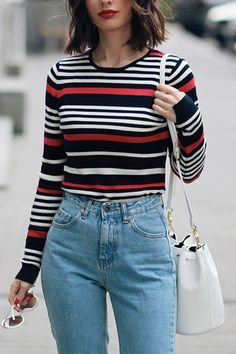 The 8 Most Flattering Clothes for Your Waistline via @PureWow