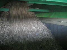 Planta completa para el reciclaje de Madera