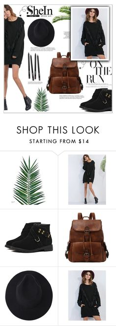 """""""shein contest"""" by khansaba ❤ liked on Polyvore featuring Nika"""