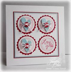 Love You by blessingsX3 - Cards and Paper Crafts at Splitcoaststampers