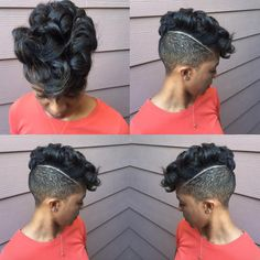 Dope! via @salonmeamoure - https://community.blackhairinformation.com/hairstyle-gallery/short-haircuts/dope-via-salonmeamoure/